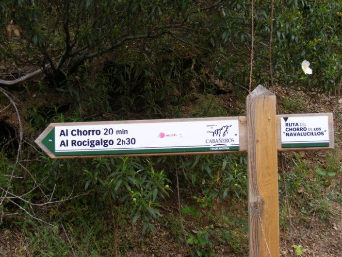 Al Chorro y al Rocigalgo, Finca
