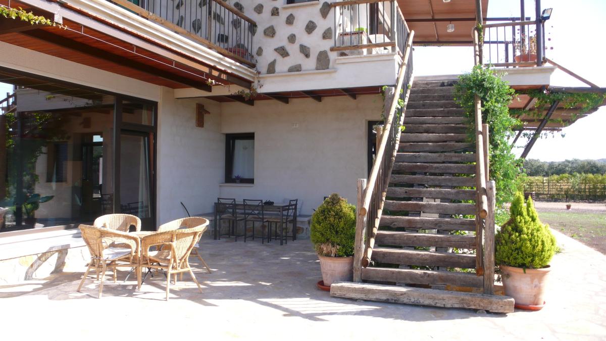 Exterior Finca Los Pájaros Montes de Toledo
