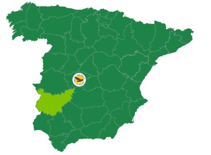 Finca los Pájaros - Casa Rural cerca de Badajoz