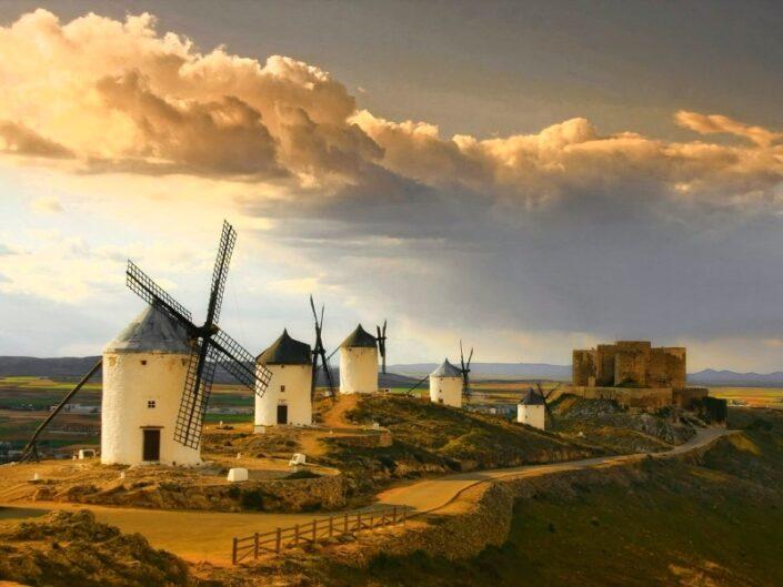 Consuegra, los Molinos de la Mancha