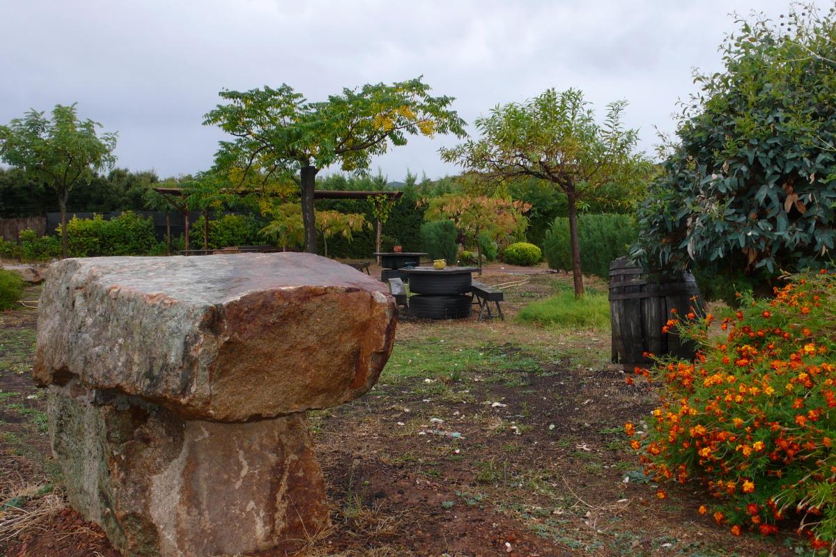 Casa Rural Finca Los Pájaros - Detalle Decoración Exterior
